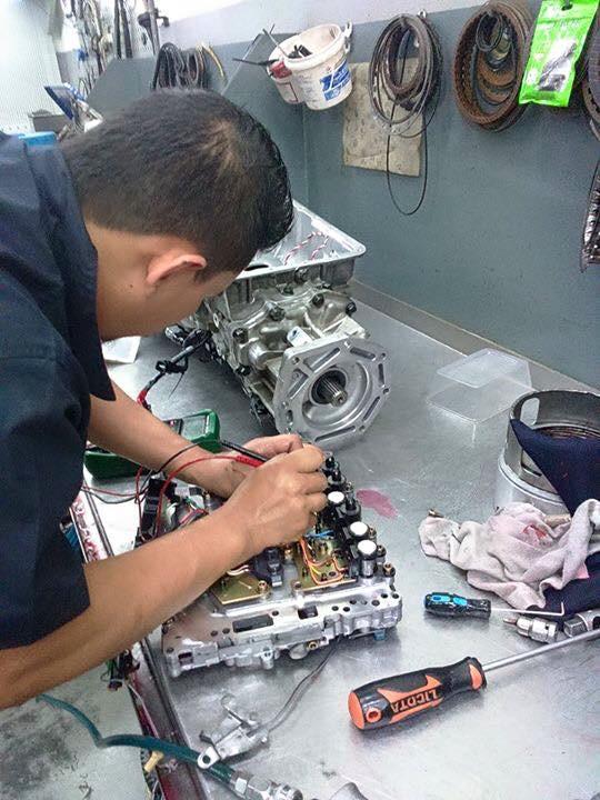 sửa chữa hộp số ô tô