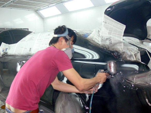 sơn ô tô giá rẻ