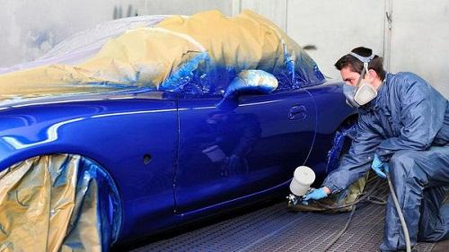đồng sơn ô tô