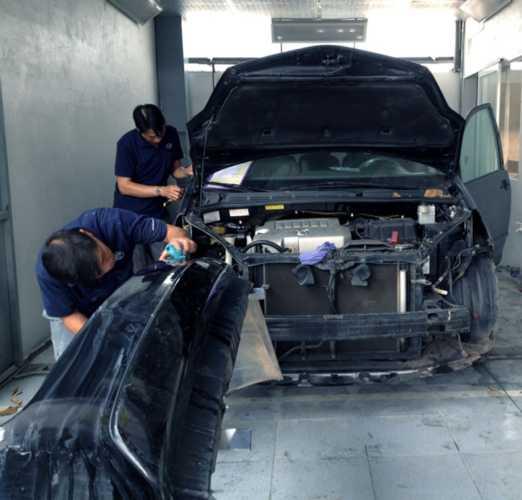 sửa chữa Mazda tại nhà bè