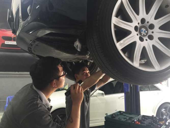 sửa chữa mercedes tại quận 7
